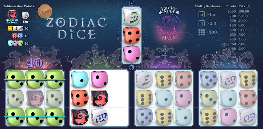 Dice Game sur betFIRST
